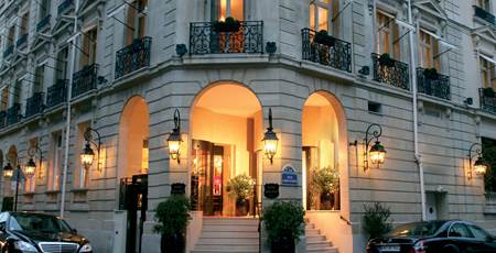 Hotel Balzac Paris  Rue Balzac  Paris France